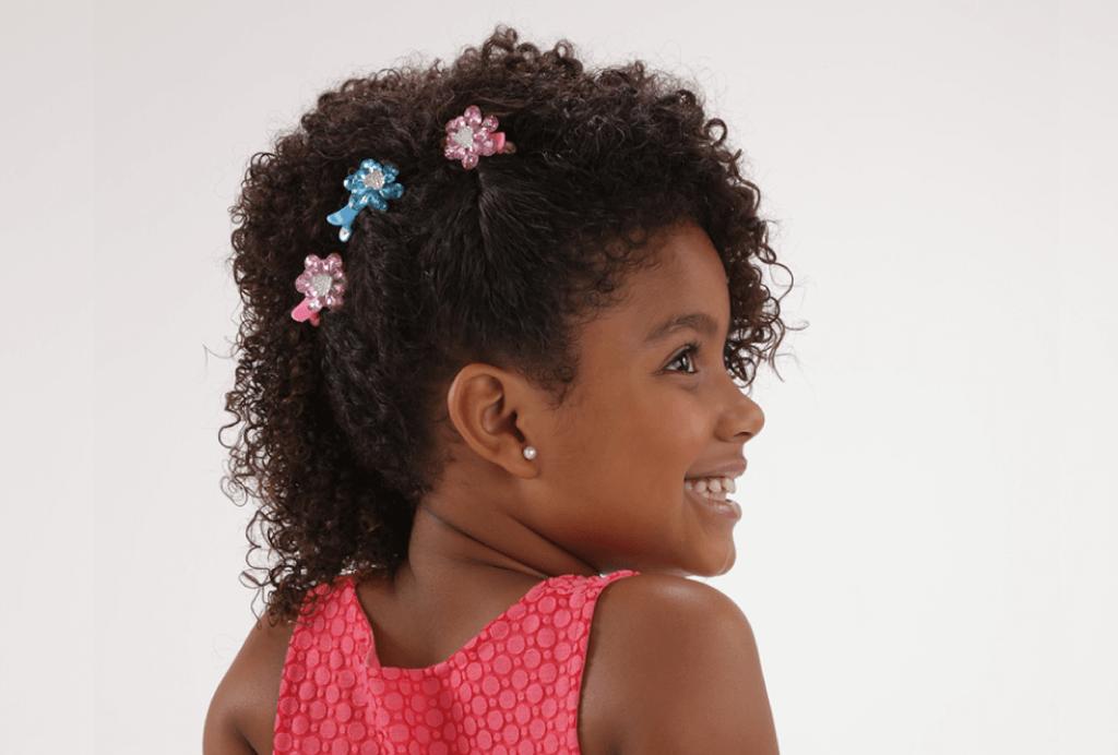 Penteados infantis: Lateral com torcididnho