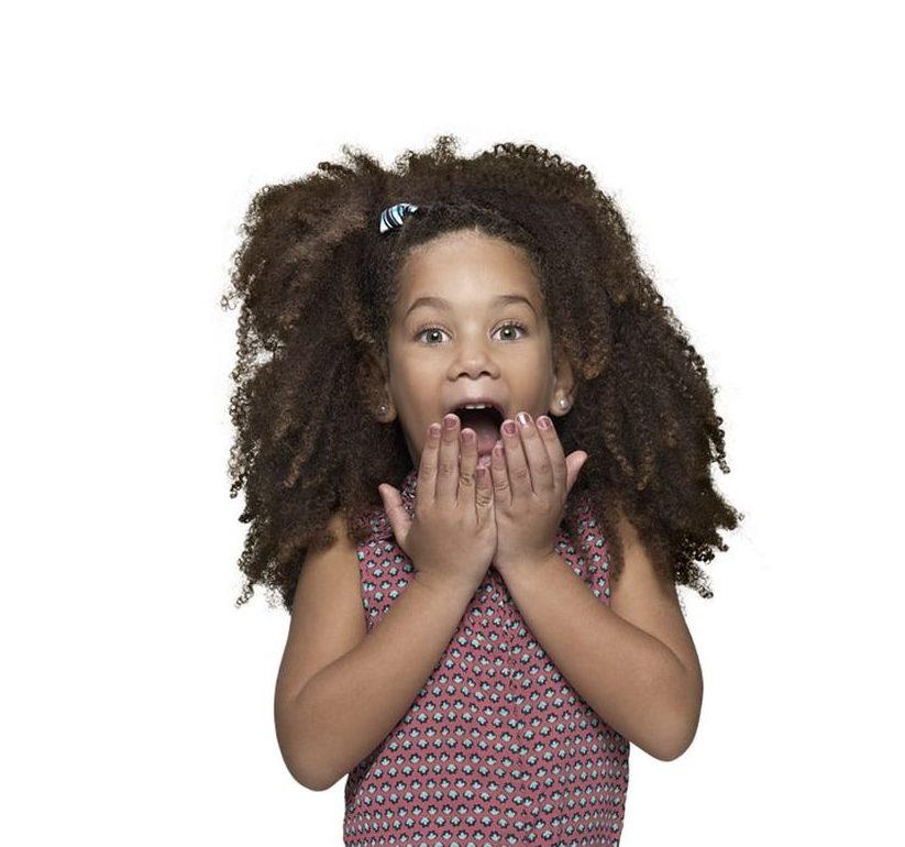 Penteados infantis: semi preso